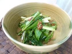 そのまんま野菜!小松菜で野菜補給