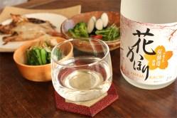 春の宴を優雅に…桜酵母を使用「花かほり 純米吟醸」