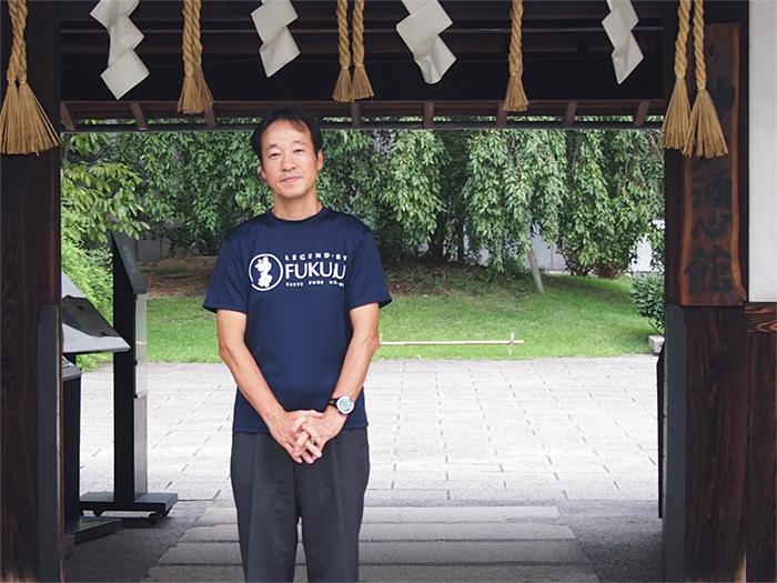 神戸酒心館の坂井さん