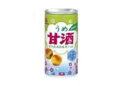 暑さ対策が手軽に!森永製菓「うめ甘酒」5月17日に新発売