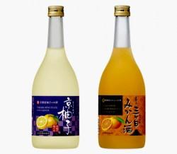 京都産水尾の柚子を使用した『京柚子』&静岡産三ヶ日みかんを使用した『香る三ヶ日みかん酒』を2月14日から全国で販売開始