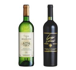 白鶴酒造株式会社『LUIGI LEONARDO MONTEPULCIANO D'ABRUZZO』&『CHATEAU DE BEAULIEU BLANC』が「サクラアワード」で銀賞を受賞