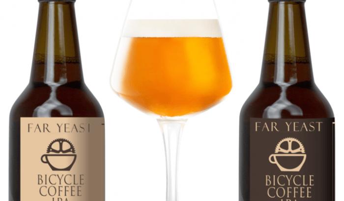 ビールとコーヒーのコラボが楽しめる!「Far Yeast BICYCLE COFFEE IPA」2種を発売
