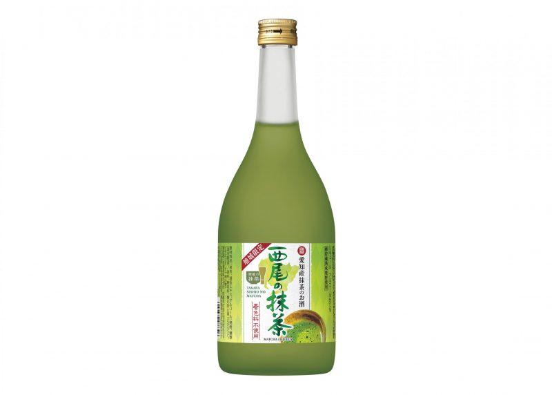 寶 愛知産抹茶のお酒「西尾の抹茶