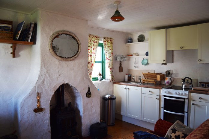 Interior de Rope Bridge Cottage