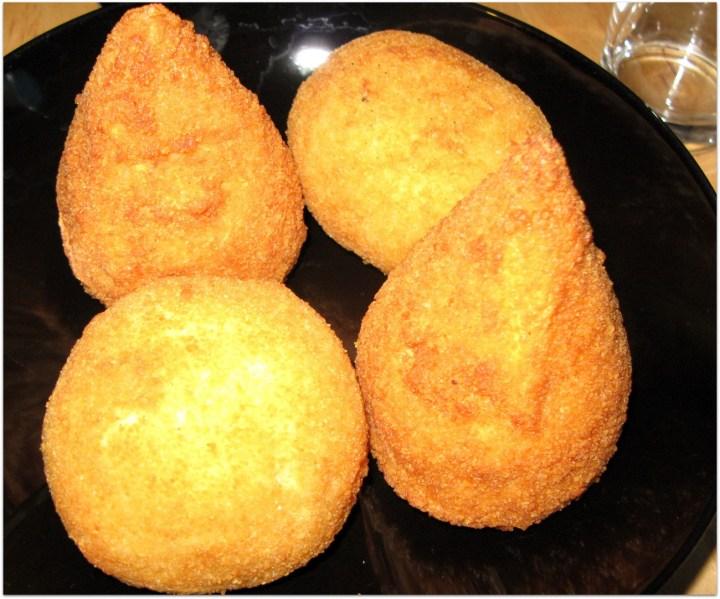 arancini sicilianos