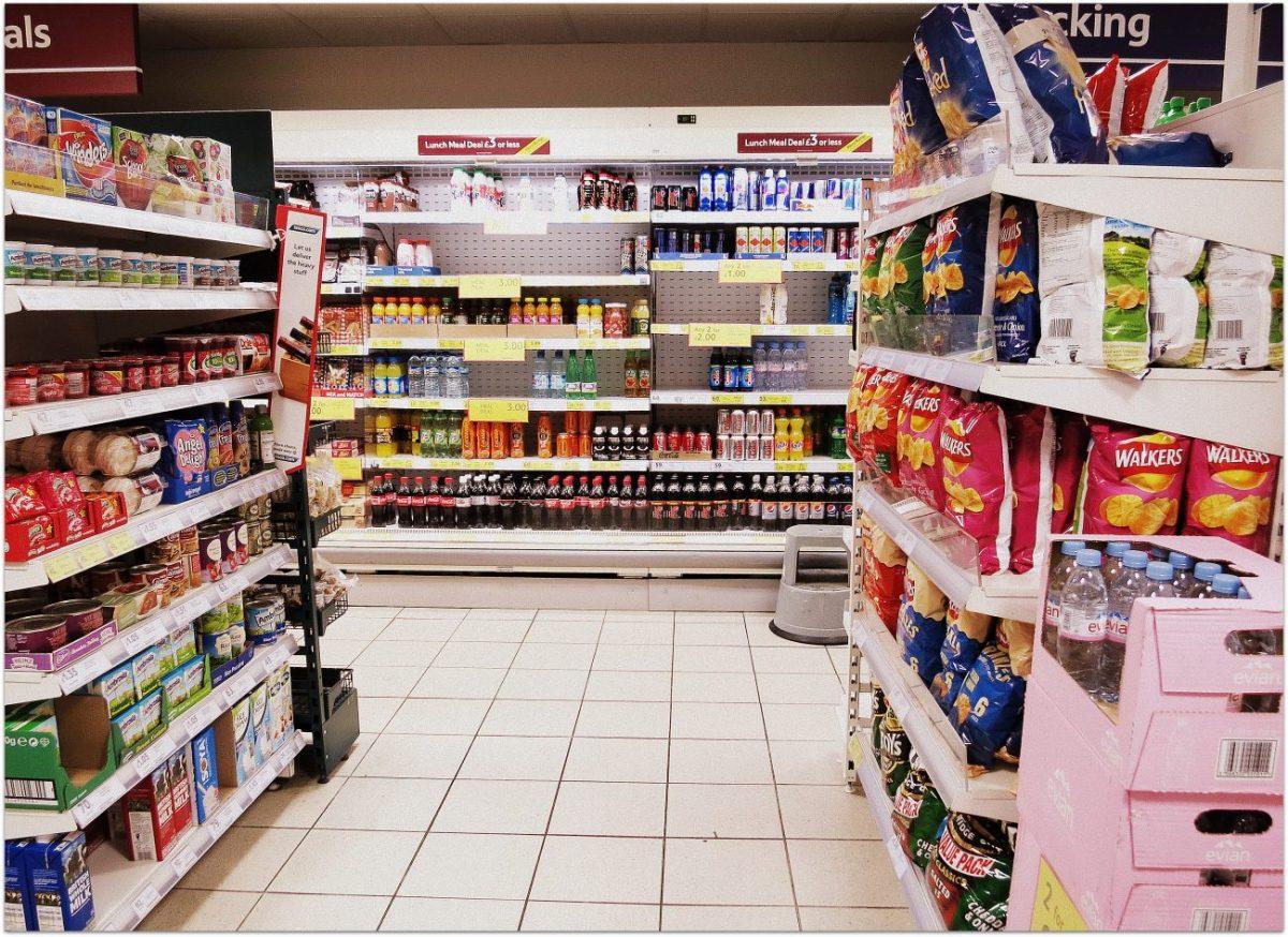 Notas sobre 10 cosas que no faltan en un supermercado inglés