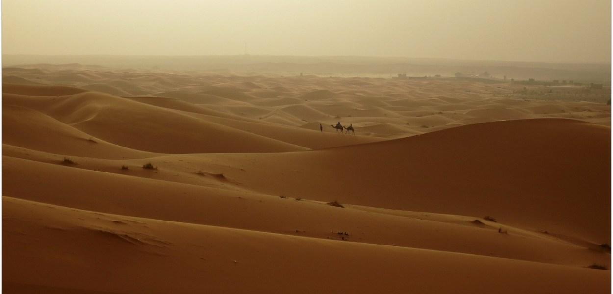 Atardecer Sahara