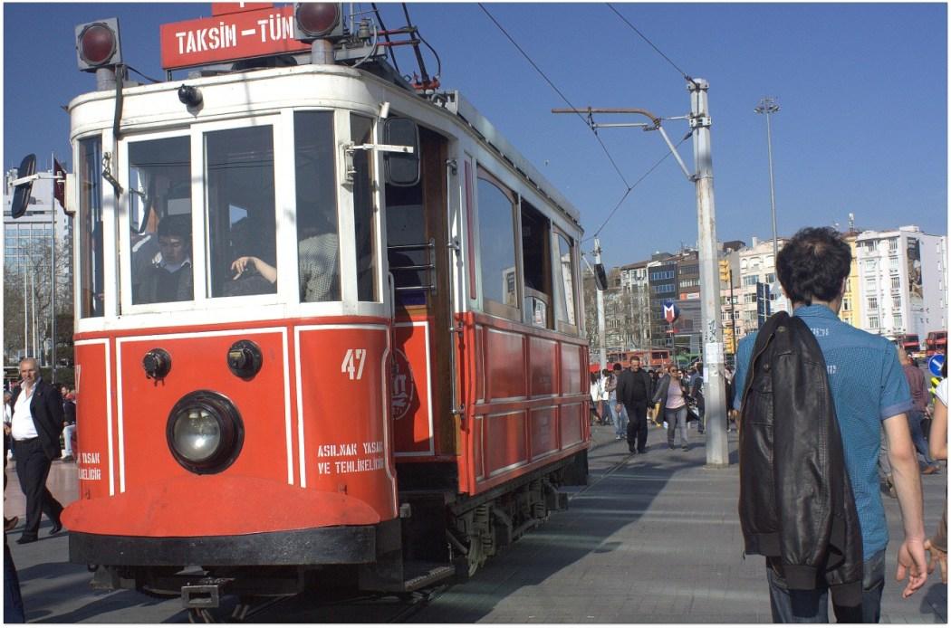 Tranvia Istiklal Caddesi