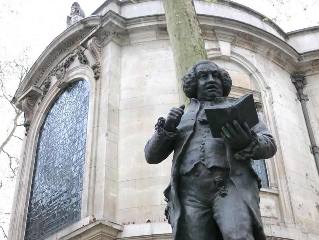 Estatua del Dr. Johnson