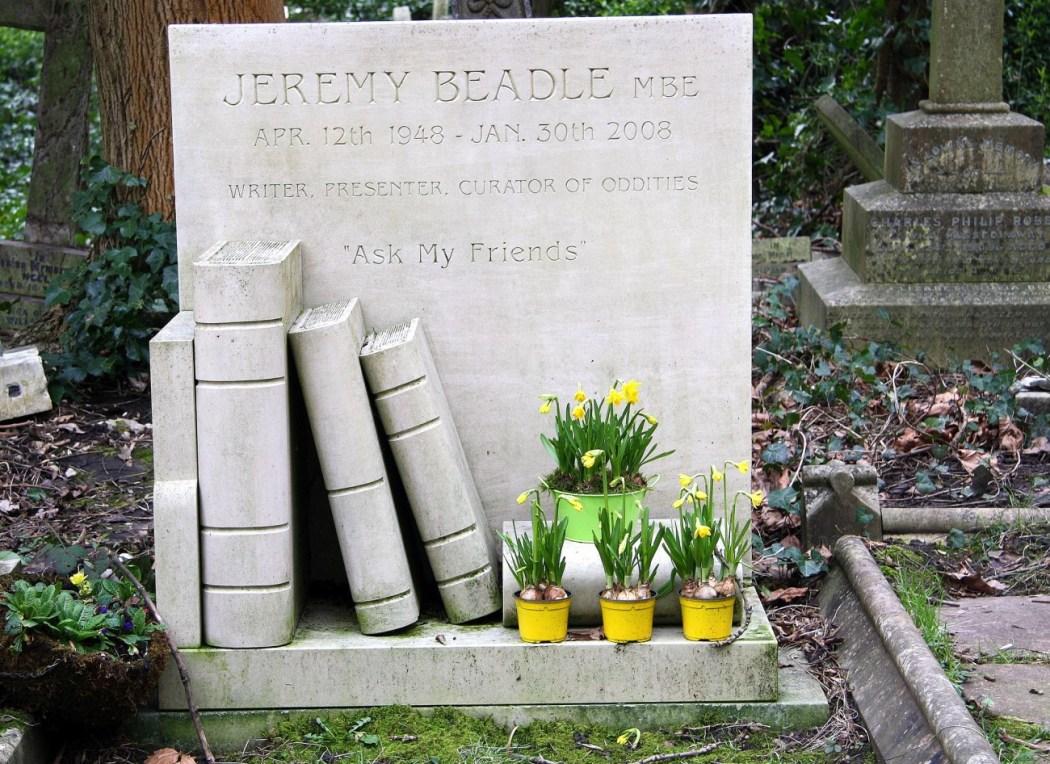Tumba en el cementerio de Highgate