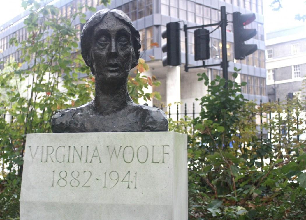 Virginia Woolf en Tavistock Square