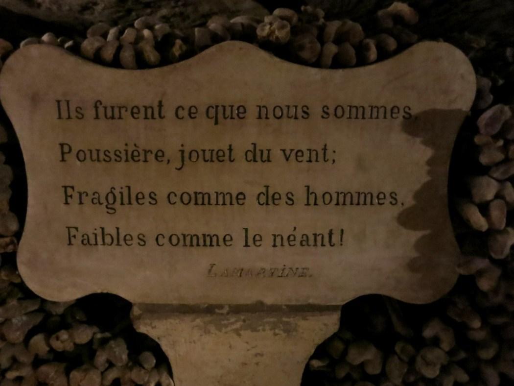 Catacumbas de París