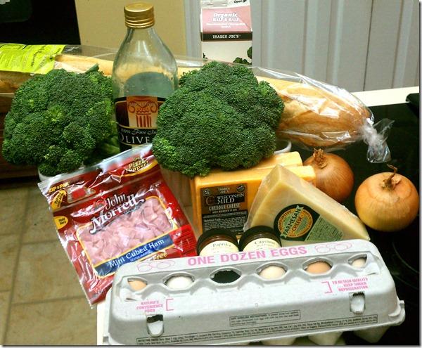 Macys-Emeril-broccoli-casserole-ingredients