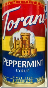 Torani-peppermint-syrup--bottle-label-logo
