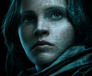 Jyn Erso Rogue One Character poster