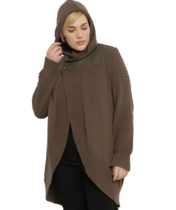 jyn sweater plus size hot topic star wars rogue one