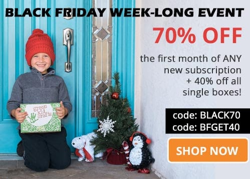 green kids crafts black friday
