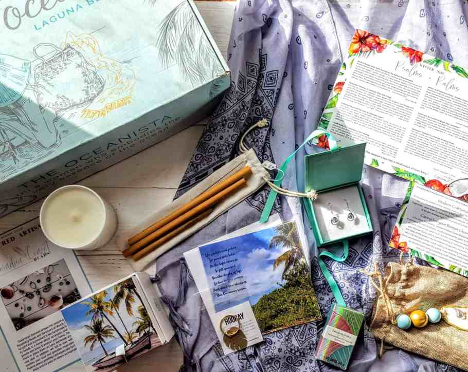 what's in the winter oceanista box
