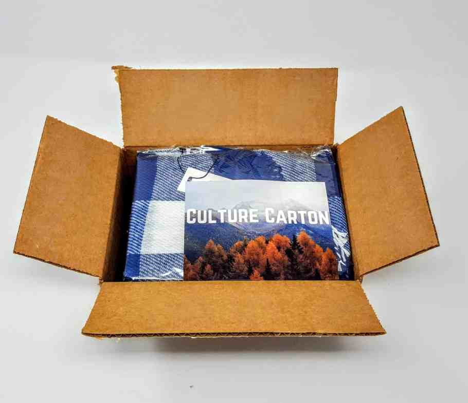 first look in culture carton