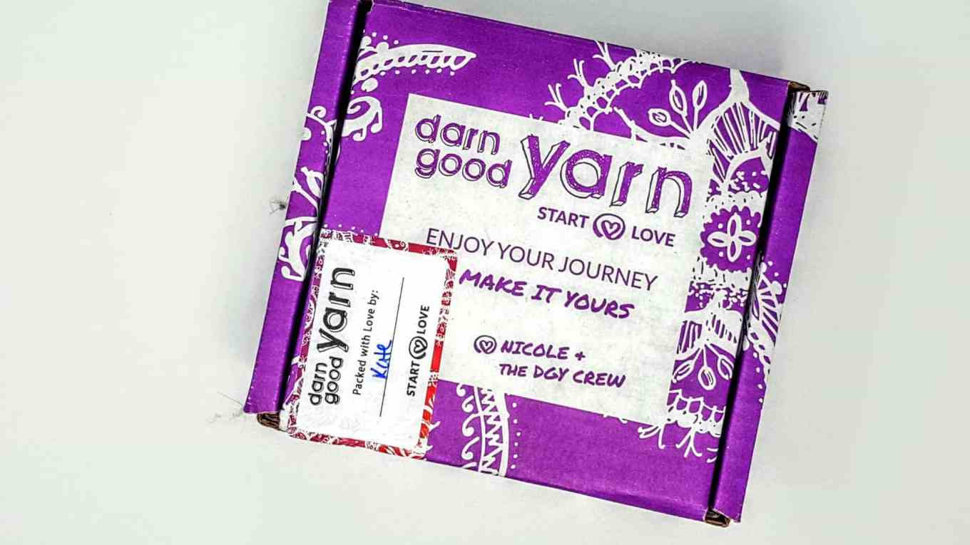 darn good yarn of the month review