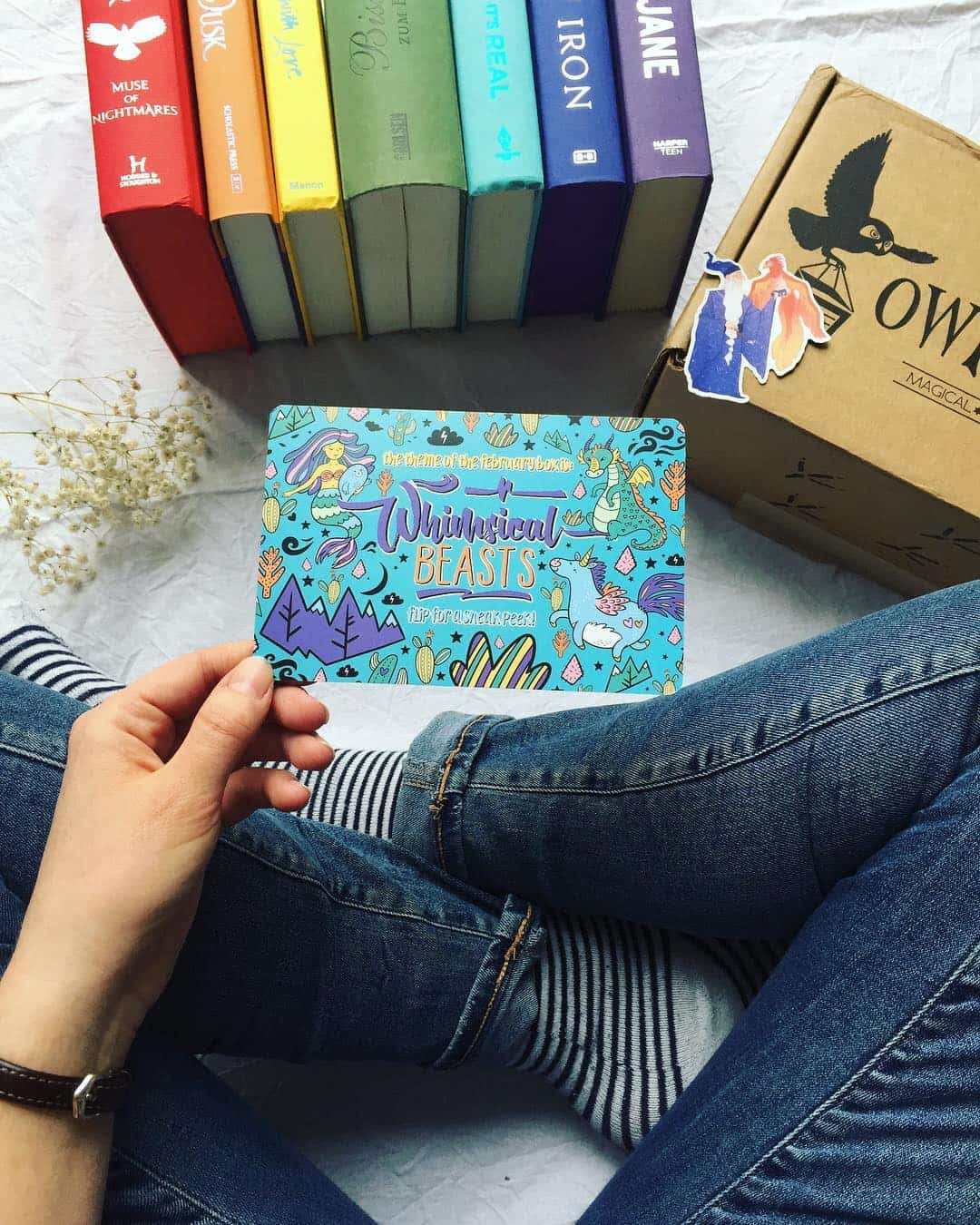 OwlCrate February Subscription Box Spoilers