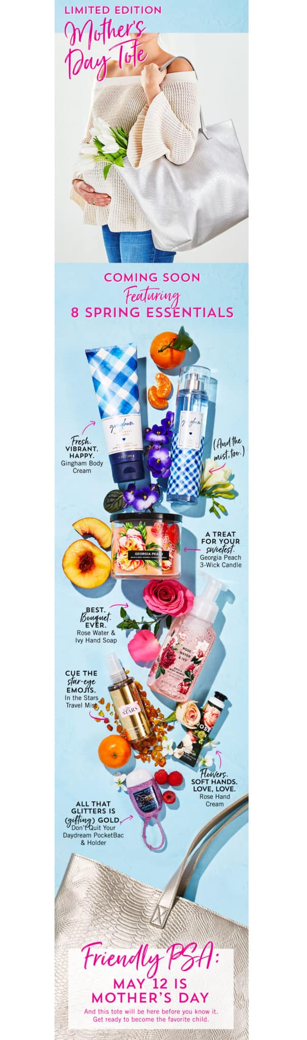 Bath & Body Works VIP Mother's Day Tote 2019 Available Soon & Spoilers