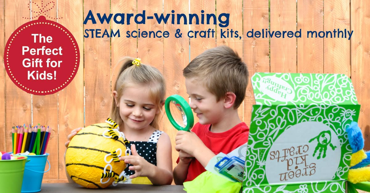 50% OFF Any Green Kid Craft Subscription Box