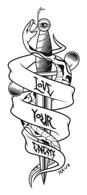 Love Your Enemy www.notawonderboy.com