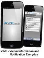 victim information notification - vine mobile