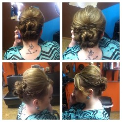 megan mitchell - platinum hair design - New Castle - Indiana - hair salon - prom and wedding hairstyles