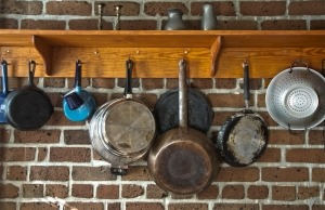 pots and pans kitchen diy makeover ideas