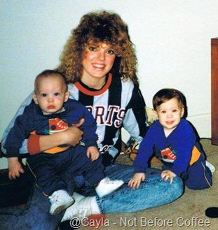 TBT 1993 gayla trey and coty baer