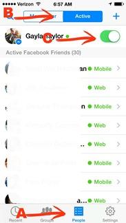 facebook messenger appear offline