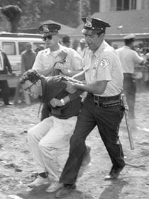 bernie sanders arrested protesting