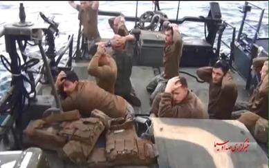 American soldiers prisoners of iran