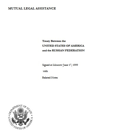 mutual legal assistance treaty russia and united states