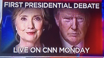 donald trump and hillary clinton presidential debate sept 25 2016