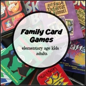 Favorite Family Card Games