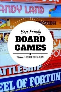 We love to play board games together, especially the ones we can all enjoy together!