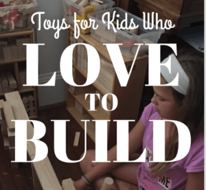 Check out the best toys for kids who like to build.