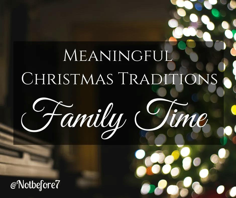Plan Family Time This Christmas