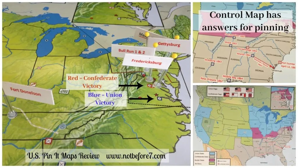 Pin it Maps use control maps to help your students pin their responses on the main map.