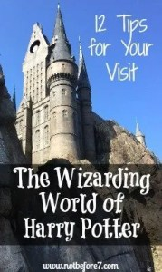 Twelve tips to make your experience at Harry Potter World a magical one!