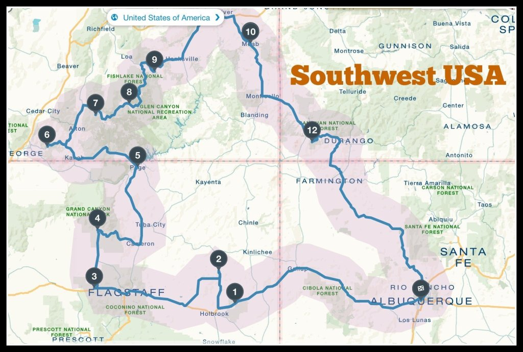 Travel the Southwest USA with Kids - Not Before 7
