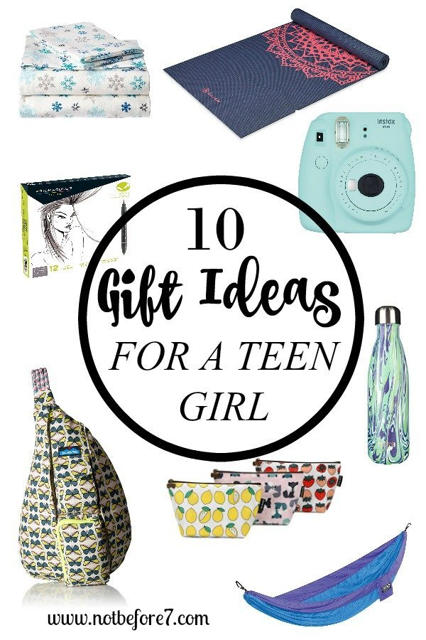 gift ideas for a teen girl