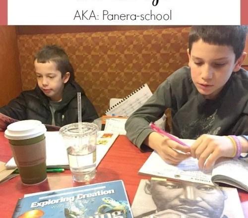How we homeschool on the go.