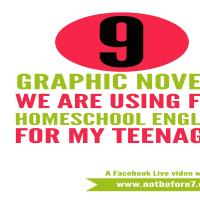 The Graphic Novel Choices for our Homeschool Year