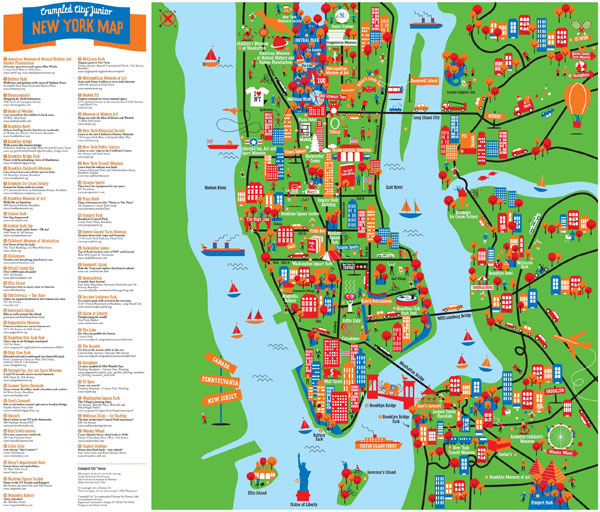 Crumpled City Junior Maps By Palomar NOTCOT