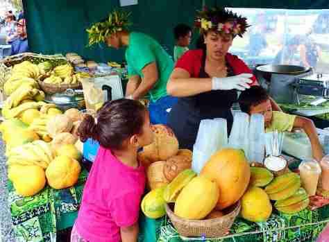 Market day Raro